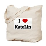 I Love KateLin Tote Bag