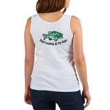 Stop Looking At My Bass Women's Tank Top