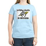 Nothing shocks an electrician Women's Pink T-Shirt