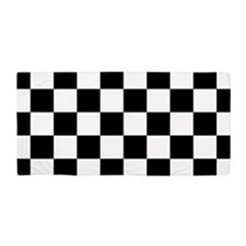 Checkerboard Beach Towel