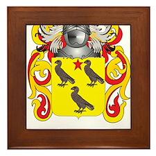 Faulkner Coat of Arms Framed Tile