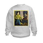 The Big Punch #2 (1921) Kids Sweatshirt