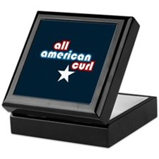All American Curl Keepsake Box