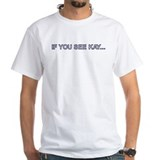 Humour Mens White T-shirts