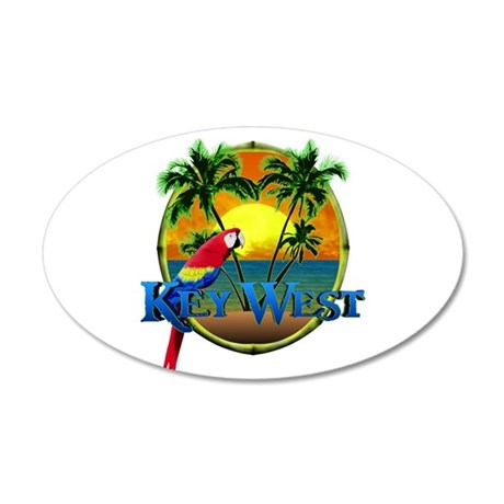 Key West Sunset Wall Decal