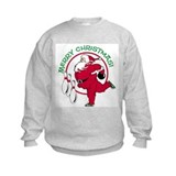 Bowling Santa Sweatshirt