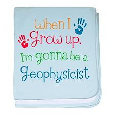 Future Geophysicist baby blanket
