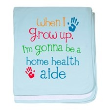 Future Home Health Aide baby blanket