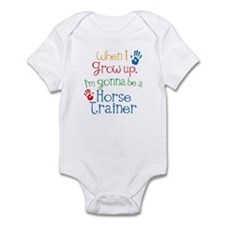 Future Horse Trainer Infant Bodysuit
