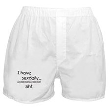Unique Dyslexia Boxer Shorts