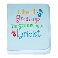 Future Lyricist baby blanket