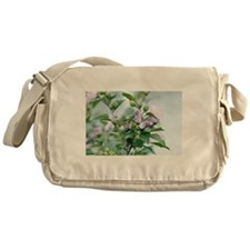 Hummingbird and the Rose of Sharon's Messenger Bag
