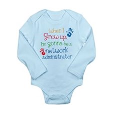 Future Network Administrator Long Sleeve Infant Bo