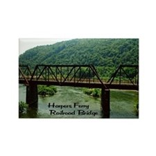 Harpers Ferry Bridge Rectangle Magnet