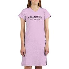 People Kill People Women's Nightshirt