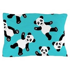Cute Panda bear Pillow Case