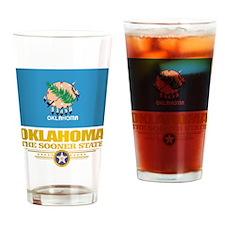 Oklahoma Flag Drinking Glass