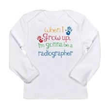 Future Radiographer Long Sleeve Infant T-Shirt