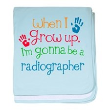 Future Radiographer baby blanket