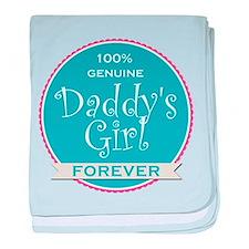 100% Genuine Daddy's Girl Forever baby blanket