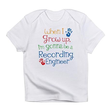Future Recording engineer Infant T-Shirt