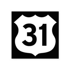 US 31 Highway Shield Sticker