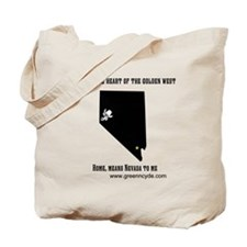 Home means Nevada Tote Bag