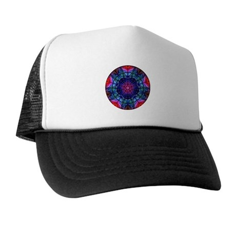 Kaleidoscope Fractal 008 Trucker Hat