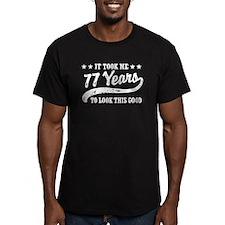 Funny 77th Birthday T