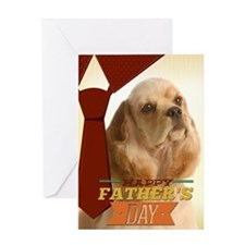 Cocker Father's Day Greeting Card