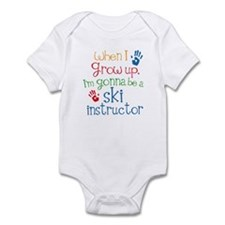 Future Ski instructor Infant Bodysuit