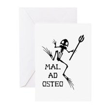 Desert Frog w Trident - MAO Greeting Cards (Pk of