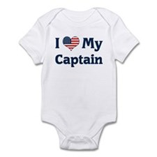 I Love My Captain Infant Bodysuit