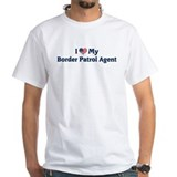 I Love My Border Patrol Agent Shirt