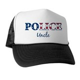 Police Uncle - patriotic Trucker Hat