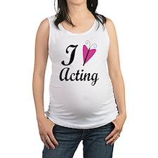 I Heart Acting Maternity Tank Top