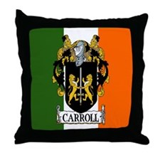 Carroll Arms Flag Throw Pillow