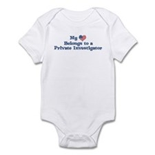 My Heart: Private Investigato Infant Bodysuit