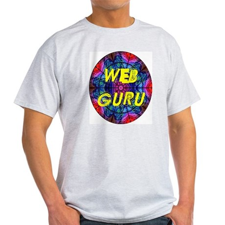 Web Guru Ash Grey T-Shirt