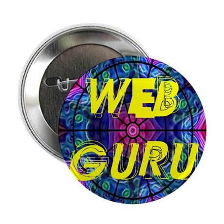"Web Guru 2.25"" Button (100 pack)"