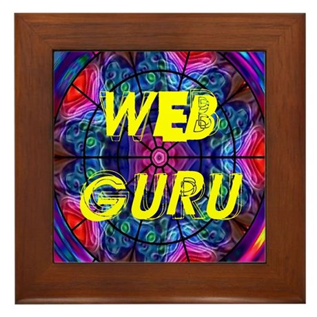 Web Guru Framed Tile