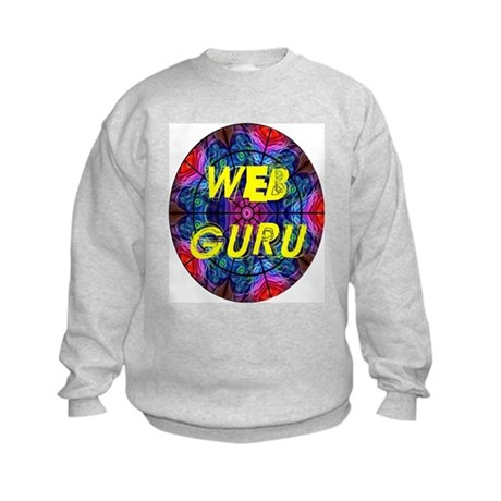 Web Guru Kids Sweatshirt