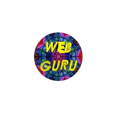 Web Guru Mini Button (100 pack)