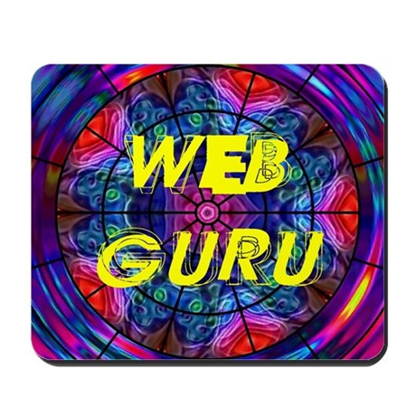 Web Guru Mousepad