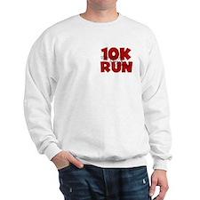 10K Run Red Sweatshirt