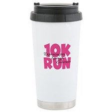 10K Run Pink Ceramic Travel Mug