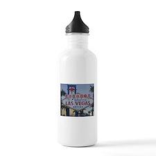 Las Vegas Sign Water Bottle