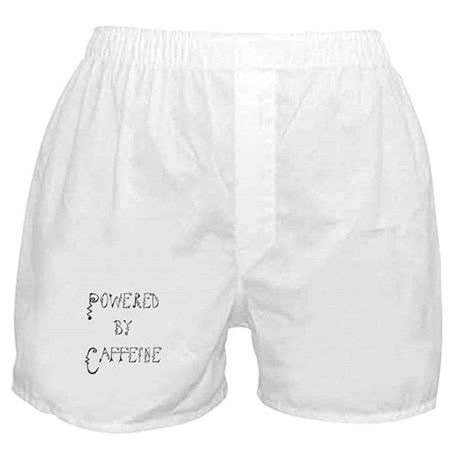 Powered by Caffeine Boxer Shorts