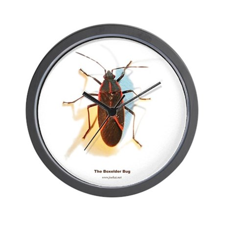 Boxelder Bug Wall Clock