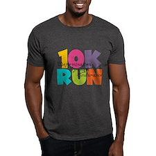 10K Run Multi-Colors T-Shirt